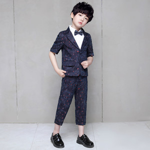 Boys Suits Formal Children Costume For Boy Wedding Suit Kids Blazer Summer Child Tuxedo Costume For Kids