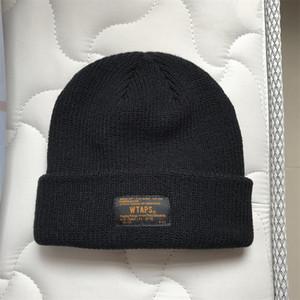 WTAPS Beanies Örgü Kış Şapka Kadınlar Erkekler Bonnet Hip Hop Caps Kaşmir Kafatası Harajuku Punk Sokak Günlük Sıcak Moda Unisex Açık İçin