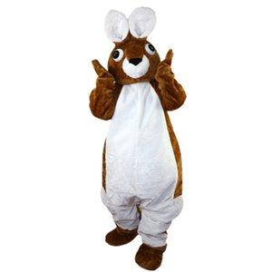 2018 Nueva alta calidad de Peter Rabbit trajes de la mascota para adultos circo navidad de Halloween traje elegante traje de libre Shipping231