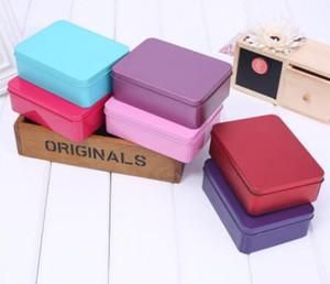 new Tin Box Survival Kit Tin Higen Lid Small Empty Silver Flip Metal Storage Box Case Organizer For Money Coin Candy Keys
