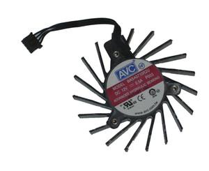 AVC BASA0710R2U 12V 0.5A 4 Kablo Quadro Q4000 2GB Grafik kartı fanı