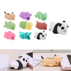 Cheap Winder 1Pc Cute Bite Cartoon Animal Cable Protector Cord Wire Protection Mini Cover Charging Cable Winder High Quality Protector New