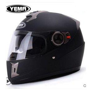 Mustang tutta la stagione moto caldo inverno doppia corse lente casco da motociclista maschile casco pieno 31