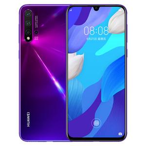 "Original Huawei Nova 5 Pro 4G LTE Cell Phone 8GB RAM 128GB 256GB ROM Kirin980 Octa Core 6.39"" Full Curved Screen 48MP NFC Smart Mobile Phone"