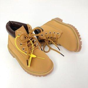 Timberland 소녀 소년을 위해 2020 편안 어린이 겨울 패션 아동 가죽 스노우 부츠는 캐주얼 봉제 아동 아기 유아 001 신발 마틴 부츠 신발을 따뜻하게