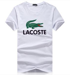 Tops pour 2020 été cottoncrocodile T-shirt tops tee designers hommes chemise taille plus s-5XL marque de vêtements de sport col rond conception 3D