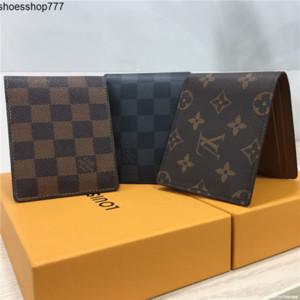 ZA5V 2020 monedero billetera hombre de negocios carpeta del diseñador lujo de la carpeta de los hombres carteras bolsos de lujo del diseñador bolsos monederos de las mujeres SIN CAJA