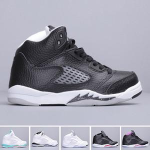 Bambini Jumpman 5 5s scarpe da basket offerta bambino clasisc salto uomo scarpe da ginnastica bambino ragazzi scarpa sportiva ragazze sneaker bambini sport chaussures