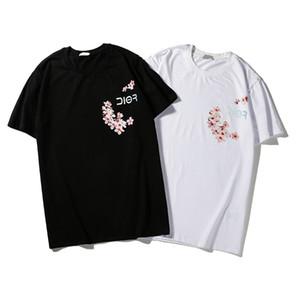 Summer famous Design Short-Sleeves Tops popular Female brand Letter Embroider Slender women Short sleeve t shirts for womens shirts clothing