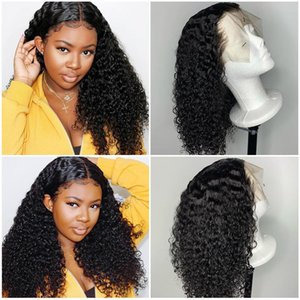Brazilian Wig Curly Lace Front Human Hair Wigs Lace Frontal Wig Short Bob Pre Plucked With Baby Hair For Black Women
