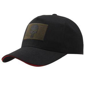 Il cappello ricamato su misura Cotton tattico Berretto da baseball SEALs Punisher American Sniper esercito di snapback del cappello Berretto da baseball per MenWomen
