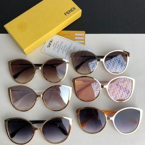 Fen Hot neutre lunettes de soleil confortable mode meilleures ventes lunettes de soleil plein de lunettes de soleil en métal 58 * 18 * 140