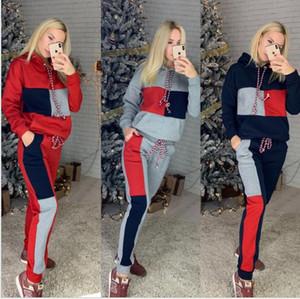 Femmes vêtements deux pièces Ensembles 2 pièces Femme Set Femme Sweat Sweat Suites Plus Taille Jogging Sport Costume Soft Long SkinSuit Sportswear S -XL