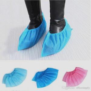 Monouso Stivaletti in calzari antiscivolo Odore a prova di tessuto non tessuto delle famiglie Galosh Prevenire Wet Shoes Covers FS9519