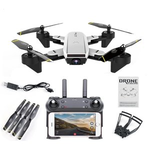 SG700 SG700 FPV RC Qudacopter With 0.3MP 2MP Wide Angle Optical Follow Mode Camera Foldable Selfie Drone Altitude Hold Headless T191109