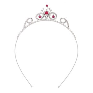 HOT Wedding Tiara for Children Flower Girl Headband Tiara Crown