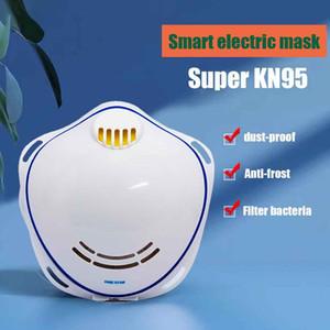 Le charbon actif de protection Purificateur d'air électrique masque facial automatique PM2,5 Ventilation des soins de santé Respirant