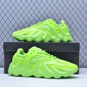 Kanye West 451 Shoes vulcânica Charlescharlyc 700 Sneaker esportes estação 8 com Box Men Amarelo Preto Branco 40-45