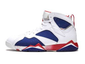 Nike Air Max Retro Jordan Shoes Reflektierende neue Ankunfts-Bugs Bunny Patta x 7 Basketball-Schuh-Ray Allen Olympic 7s Geschichte der Flug Hare Mens Raptor Sport-Turnschuhe
