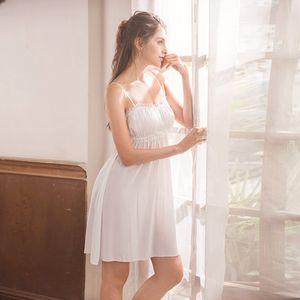 Sling Sexy Girl Princesse Femme Chemise de nuit Chemise de nuit Femmes Sleep-Babydoll De Nuit robe jupe robe de sommeil