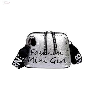 2020 Fashion New High Quality Ladies Messenger Bag Tide Bag Shell Wide Shoulder Strap Wild Shoulder Bag Purse Hot Sale