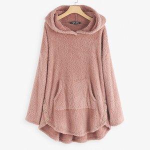 New 2020 Women Sweatshirt Hoodies Ladies Hooded Love Solid Color Casual Pullovers Long Sleeve Spring Autumn Winter Girl Hoodies Y200706
