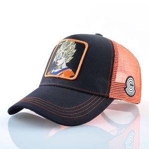 New Designer Hip Hop Dragonball Baseball Cap Truck Driver Hat Men's Labeling Net Cap Female Sun Wukong Men's Summer Cotton Outdoor
