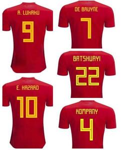 Personalizado 19-20 9 Lukaku Inicio calidad tailandesa fútbol Jersey Moda para hombre 10 Peligro De Bruyne 7 99 8 Batshuayi Fellaini 11 Carrasco Fútbol Ropa