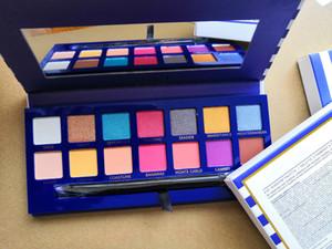 2018 14colors sombra New est Hot Makeup Palette Marca de olho Paleta gratuito shapping