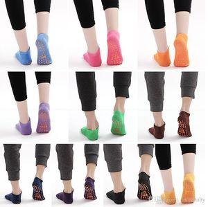 Meias bebê criança Piso Socks Crianças Yoga Trampolim meias de algodão Ankle Sock Chinelos Sports Designer antiderrapante Curto Meias Tornozeleira TLYP341