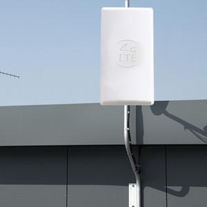 24dBi externa 4G LTE MIMO antennaLTE painel dupla polarização antena conector SMA macho duplo para huawei 4G roteador T200608