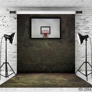 soportes del baloncesto de telones de fondo de tela de tela de vinilo photography fondos retrato fotográfico telón de fondo para la cámara de vinilo 5X7ft estudio fotográfico