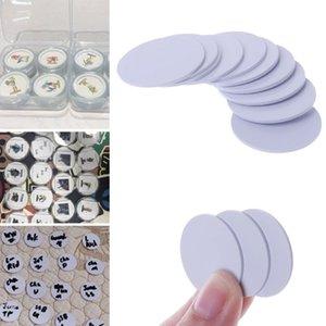 icurezza Protezione 10PCS Ntag215 NFC Tag Telefono Disponibile Etichette adesive RFID Tag 25 millimetri Holder Coin Capsule Storage Box Trasparente Circolare Di ...