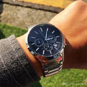 핫 판매 relogio masculino의 40mm 군사 스포츠 손목 시계 탑 스타일의 큰 남성 럭셔리 패션 디자이너 정지 흑인 남성 시계 시계 시계