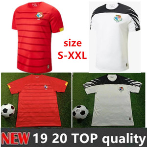 Free shipping NEW 2020 Panama Soccer Jerseys 9 TORRES 11 BROWN AWAY QUINTERO B.PEREZ NURSE GODOY Home RED WHITE White Football Shirt