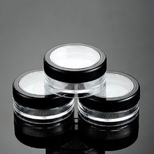 10G 10ml Vacío Polvos Sueltos colorete soplo caja de la caja de maquillaje cosmético tarros recipientes con tapas Tamiz