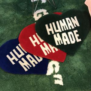 Home Möbel 60cm HumanMade Heart Teppich Nigo Plüsch Trendy Salon Handgemachte Teppich Große Bodenmatte Lieferant