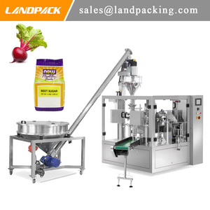 Automatic Multifunction Rotary Screw Feeder Matching Beet Powder Filling Machine