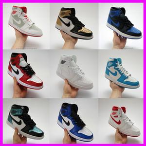 Zapatos de baloncesto de marca para hombre 1 1s zapatillas de deporte de diseñador de moda para mujer j1 entrenadores deportivos retro blanco naranja verde amarillo venta envío gratis