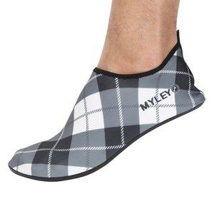Erkekler Terlik Plaj Deri Memba ayakkabı erkekler Su Ayakkabı Deri Shose Barefoot Swim