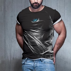 New Summer Style Men's 3d Printed Casual Fashion Men's T-shirt Hip-hop T-shirt 3d Printed K100-4xl Large Size