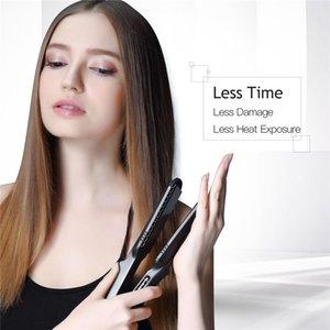 4 1 saç maşası Demir + Isıya Dayanıklı Eldiven Seramik Saç bigudi Silindir elektrik Saç tokaları Crimper Oluklu Kıvrılma 42