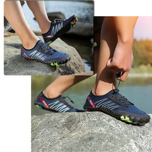 Aqua Shoes In Upstream Soft Men Shoes Breathable Water Shoes Sandal Fabric Quick-Dry Trekking Comfortable Bathing Outdoor Sports