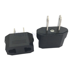 Alloy Black Color to US EU AU travel adapter plug converter 1000pcs 13618 type express free shipping