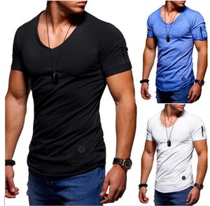 Europe and the United States round neck slim short sleeve T-shirt jacket fashion explosions free shipping in the summer of 2020