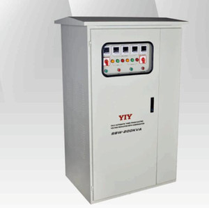 YIY AC Automatic voltage regulator voltage Stabilizer SBW-F series out door THREE PHASE 30KVA~1000KVA INPUT304~406V OUTPUT 380V+ -3% 50 60Hz
