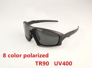 Neue Designer Polarized Sport Sonnenbrillen für Männer Frauen Radfahren Laufen Fahren Angeln Sonnenbrille 8-Color Großhandel