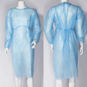 Isolation Kleidung Knits Frenulum Schutzkleidung Einweg-Kittel One Time Non Gewebe atmungsaktiv Schutzanzüge Sets gewebt