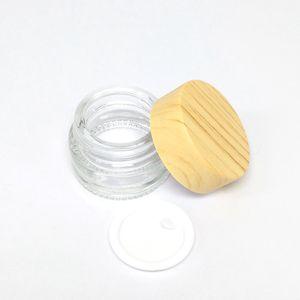 Non-Stick Wachsöl Glas Vorratsdose Kleine Behälter 5 ml 8 ml Öl Glasglas Dab Wax Pyrex Container Jar