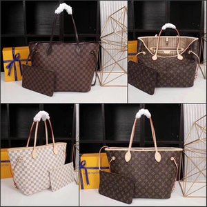 cüzdan ile 2pcs / set yüksek qulity klasik Tasarımcılar Womens çanta çiçek bayanlar kompozit torbaları PU deri debriyaj omuz çantaları kadın çanta